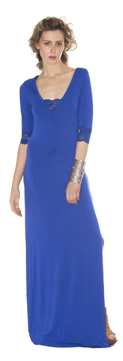 T-shirt Dress | Royal Blue